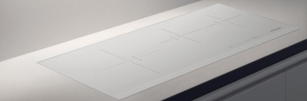 Placas de induccion blancas