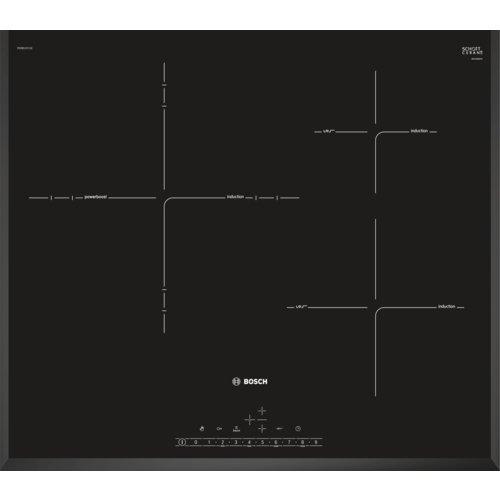 Bosch Serie 6 PID651FC1E Integrado Con - Placa (Integrado, Con placa de inducción, Vidrio y...